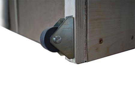 Диван-стол-кровать 150, прорезиненный колесик ящика.